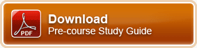 Download our pre-course study guide for this training course.